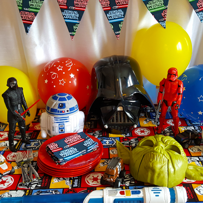 Décorations de fête de Star Wars